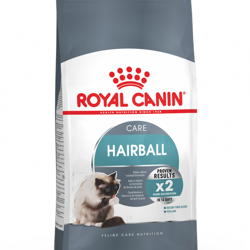 Royal Canin Hairball Care, Olika storlekar