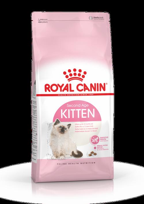 Royal Canin Kitten, Flera storlekar