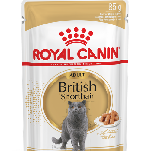 Royal Canin British Shorthair våtfoder 12pack (12*85g)