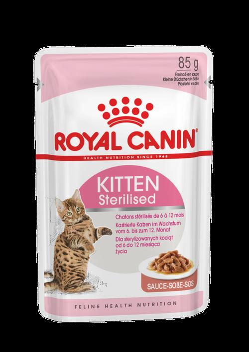 Royal canin Sterilised Kitten Gravy 85g