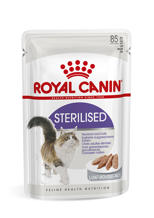 Royal Canin Sterilised Loaf 12pack*85gram