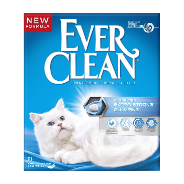 EverClean Unscented Extra Strong Clumping  -kampanj!