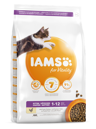 IAMS for Vitality för kattungar