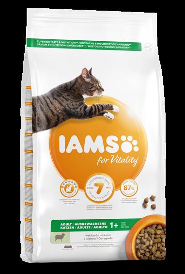 IAMS vuxen katt, Lamm