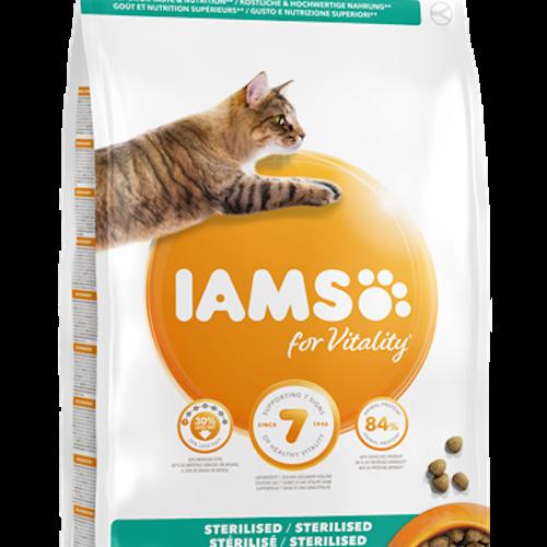 IAMS katt, Light/Steriliserad