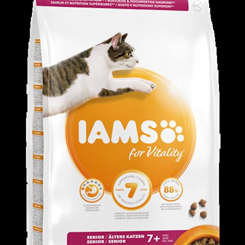 IAMS katt. Senior, kyckling