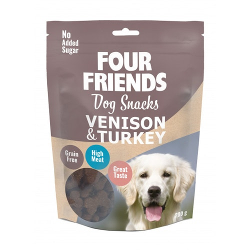 Four Friends Snacks, Venison Turkey