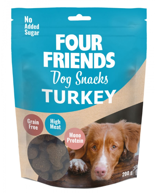 Four Friends Snack, Turkey 200g