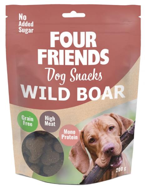 Four Friends snacks, Wild Boar 200g