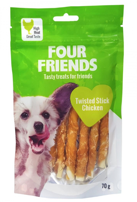 Twisted Stick Chicken 12,5 cm 7-pack