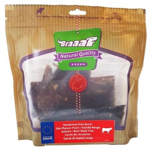 Braaaf Beef Meat Flat, hel låda (8påsar)