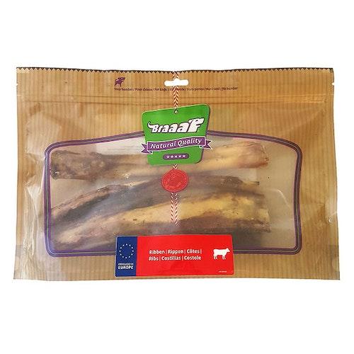 Braaaf Loose Beef Ribs 25 cm, Hel låda (4påsar)