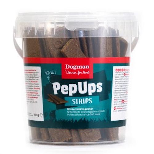Pep Ups Strips vilt 500g