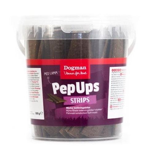 Pep Ups Strips lamm 500g