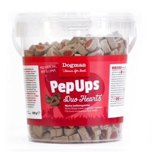 3kg! Pep Ups Duo Hearts 3-smak (6brk)
