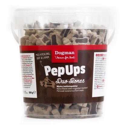 Pep Ups Duo Bones 3-smak 500g