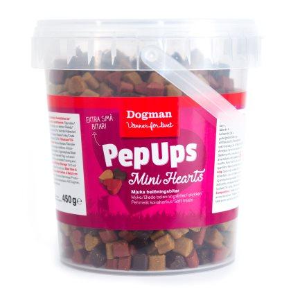 Pep Ups Mini Hearts Kyckl&Vilt 450g