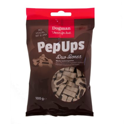 Pep Ups Duo Bones 3-smak 100g