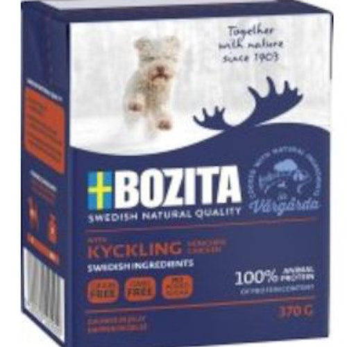 Helt flak! BOZITA NATURALS TENDER CHICKEN JUNIOR 370GR*16 TETRA