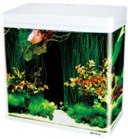 BOYU MS LED AKVARIUM VIT 45L 48x25x49CM