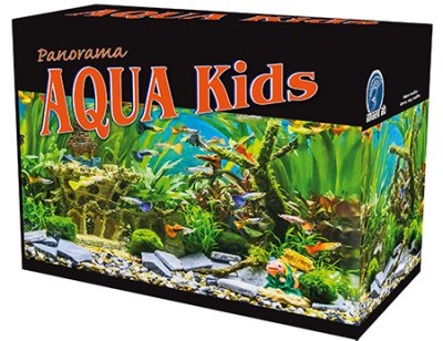 AQUA KIDS PACIFIC BLACK EDITION 19 L 35x21x26CM