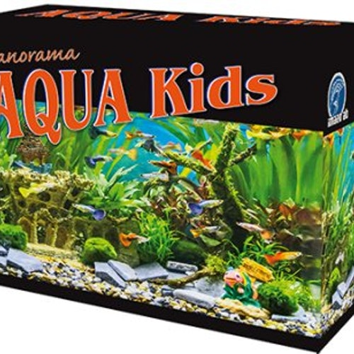 AQUA KIDS PANORAMA BLACK EDITION 18L 35x21x26CM