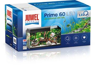 JUWEL AKVARIUM PRIMO 60 SVART 61x31x37CM ca60L