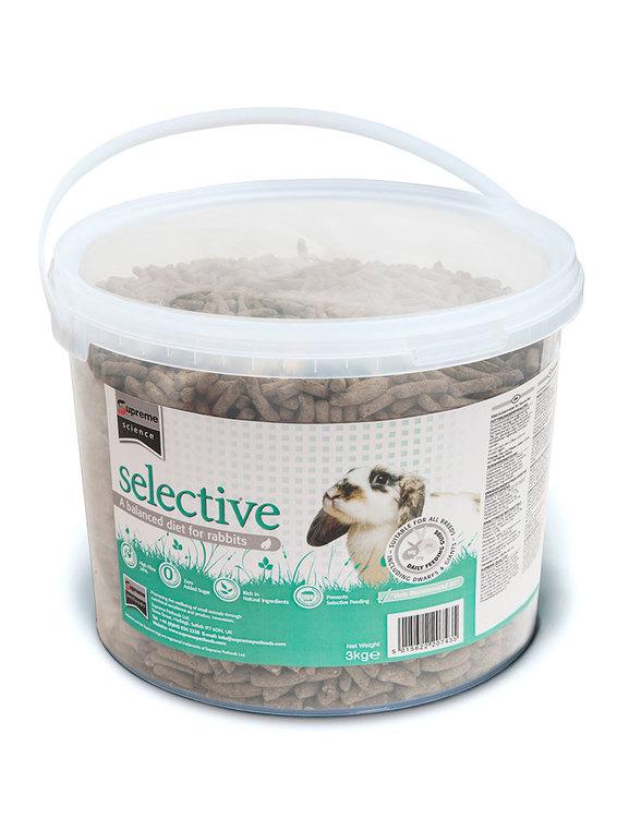 Selective Rabbit 3 kg Bucket