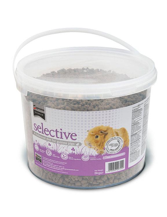 Selective GuineaPig 3 kg Bucket