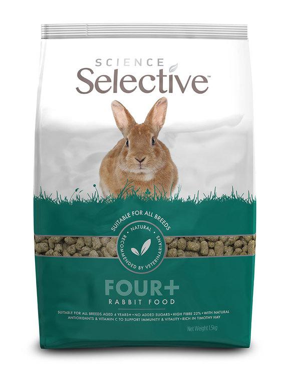 Selective Rabbit Four+, olika storlekar