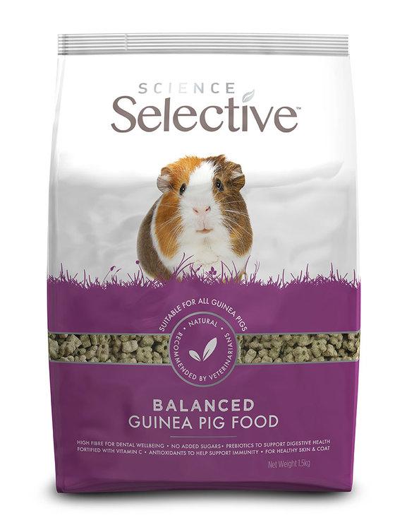 Selective Guinea Pig, olika storlekar