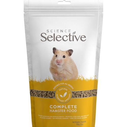 Selective Hamster, olika storlekar