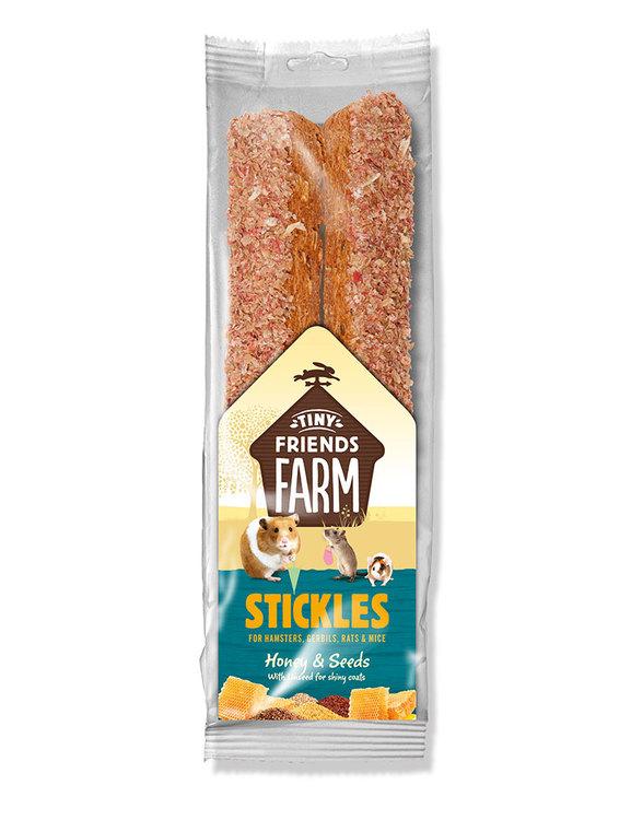 Sup Stickles Honey & Seeds 100g