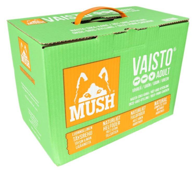MUSH Vaisto® Grön 10kg