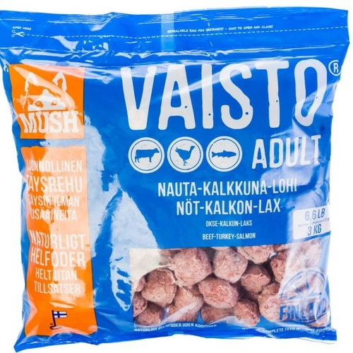 MUSH Vaisto® Blå 3kg