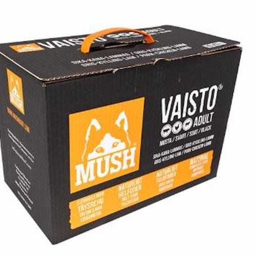 MUSH Vaisto® Svart 10kg
