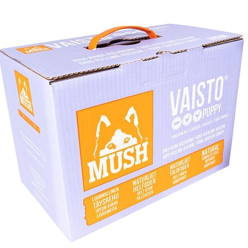 MUSH Vaisto® Puppy Ljuslila 10kg