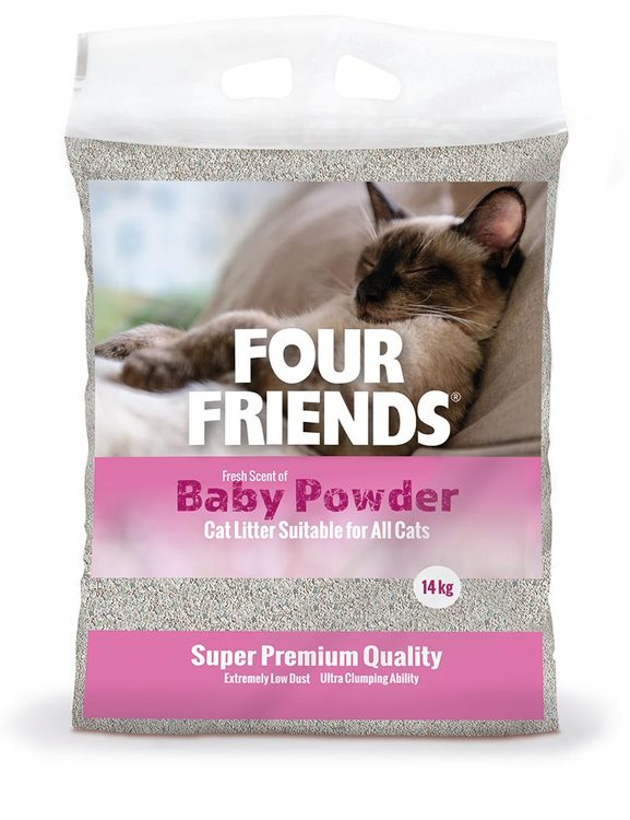 FourFriends Baby Powder kattsand