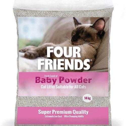 FourFriends Baby Powder kattsand