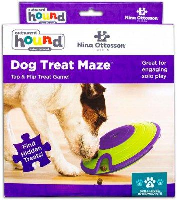 DOG TREAT MAZE PLAST