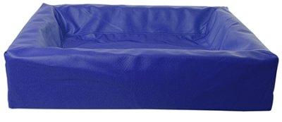BIA BÄDD fyrkantig, olika storlekar, blå