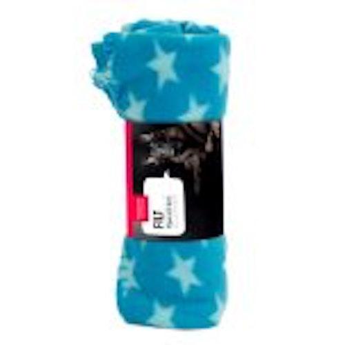 Fleecefilt Star. 100*70cm, olika färger
