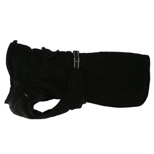Fleecetäcke Dezzi, tjockt o värmande, svart.