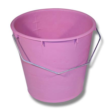 Kalvhink 7 liter rosa, styckvis/10pack