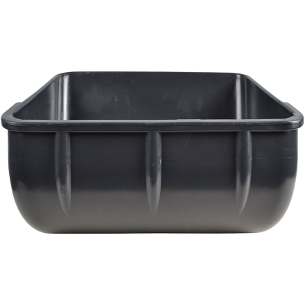 Foderkrubba 14 liter, antracitgrå. Styck/5pack