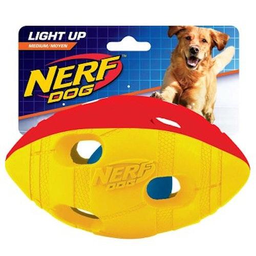 NERF LED FOOTBALL ILUMA ACTION, olika storlekar