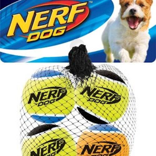 NERF SQUEAK TENNISBALLS, olika storlek
