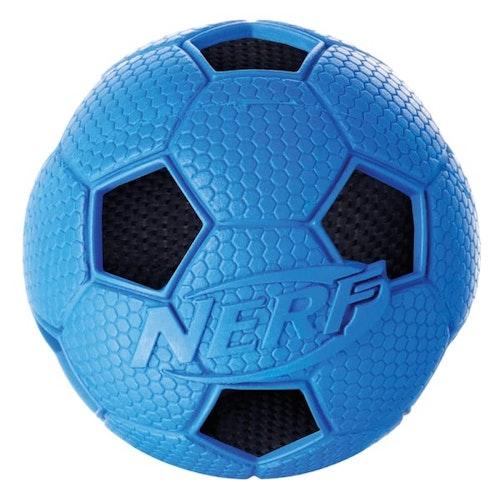 Nerf Dog Soccer Crunch Ball, olika storlekar.
