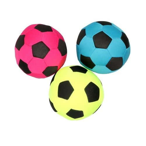 Leksak Fotboll flytande, mixade färger ø10cm