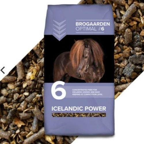 BROGAARDEN Optimal 6 - Icelandic Power, 15kg